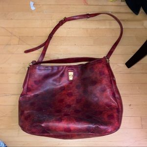 Marc by Marc Jacobs snakeskin tote